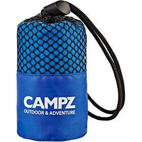 CAMPZ Serviette en microfibre 30x60cm, blue